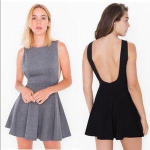 American Apparel Backless Skater Dress